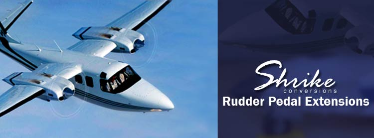 Rudder Pedal Extensions