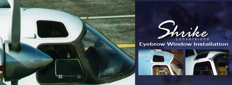 Eyebrow Windows Provide Great Visibility
